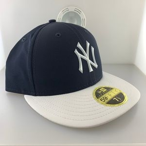 New Era Cap New York Yankees Navy Fitted sz 7 1/4